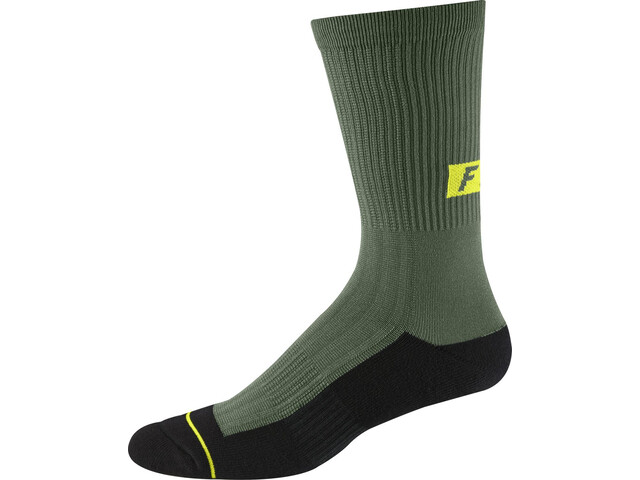 "Fox 8"" Trail Socks Men pine"